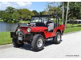 jeep station wagon lifted classic willys jeep for sale on classiccars com
