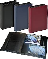 photo albums with pockets deluxe black 6x4 slip in 200 photo albums black pages