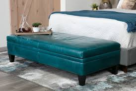 Square Leather Ottoman With Storage by Furniture Luxury Coffee Table Design Ideas With Cool Turquoise