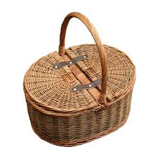 empty gift baskets two tone oval picnic 2 lids empty picnic basket the willow basket