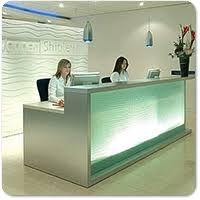 Illuminated Reception Desk Www Huntoffice Ie Images C Bespoke Reception Desk