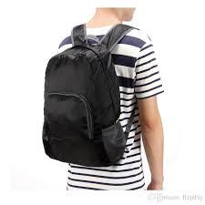 Travel backpacks women thin and light small backpack men folding