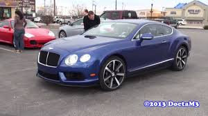 blue bentley interior stunning bentley continental gt v8 dark sapphire sweetness youtube