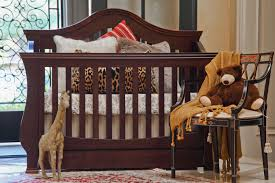 Baby Cribs 4 In 1 Convertible Solid Wood Crib Baby And