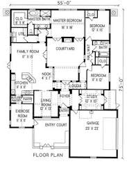 floor plans with courtyards plan 16359md central courtyard courtyard house plans courtyard