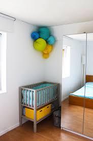 coin bébé dans chambre parentale amenager un coin bebe dans la chambre des parents estein design
