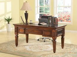 antique style writing desk parker house leonardo italian antique writing desk leo 485 front