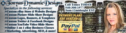 ebay designs tonyasdynamicdesigns ebay stores