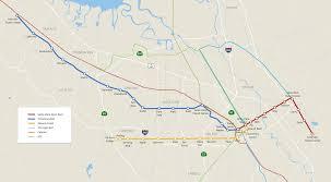 California San Jose Map by Bus Rapid Transit Program