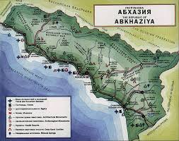 map of abkhazia map of abkhazia абхазия maps of abkhazia