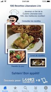 recette de cuisine libanaise avec photo 100 recettes libanaises lite app store revenue
