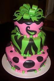 pink u0026 green zebra cake a photo on flickriver