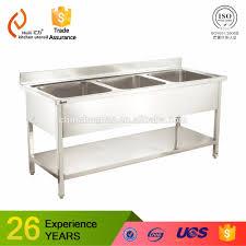 Commercial Hotel Restaurant Stainless Steel Kitchen Sink Cabinet - Restaurant kitchen sinks
