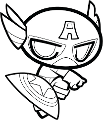 Captain America Coloring Page To Print Pages Thaypiniphone Captain America Coloring Page