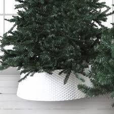 wicker white small tree skirt pillow talk