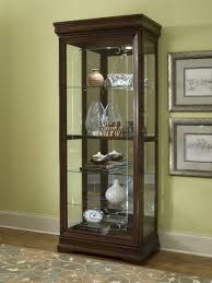 Glass Front Living Room Cabinets Madison Brown Curio Rh 21306 Curio Cabinets Pinterest Brown