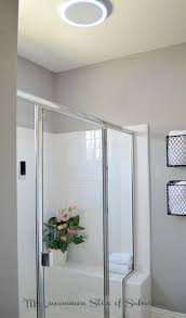 Led Bathroom Fan Diy Luxury Bathroom Makeover