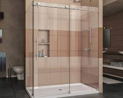 shower showers without doors awesome new shower door shower