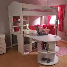 Alluring Loft Beds With Desk For Girls Girls Bunk Beds Twin Over - Loft bunk beds for girls