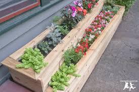 build a custom two tiered flower planter u2013 diy u2013 add curb appeal