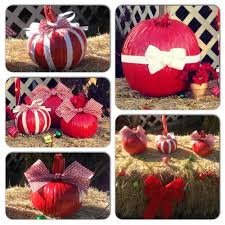 my christmas pumpkins i made christmas pinterest christmas