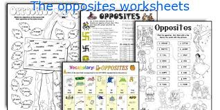 english teaching worksheets the opposites