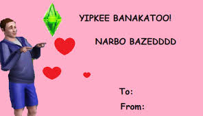 Valentine Meme - sims e card valentine s day e cards know your meme