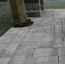 stone design paver x silver tumbled travertine stonemart x blue paver stones