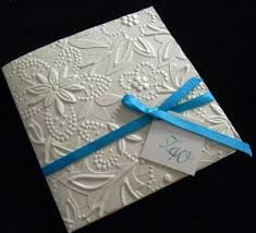 embossed wedding invitations wedding invitations embossed or thermography