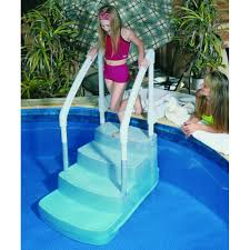 petite piscine enterree escalier fiesta pour piscine
