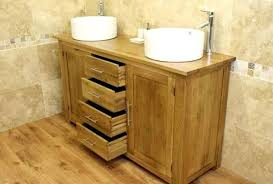 Oak Bathroom Cabinet Bathroom Oak Cabinets Gilriviere