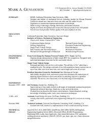 Resume Introductory Statement Examples by Luxury Ideas Engineering Resume 12 Field Engineer Resume Example