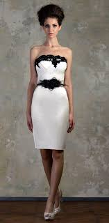 black and white wedding dress 51 black and white wedding dresses happywedd