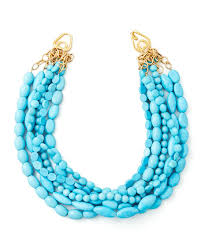 turquoise necklace images Moon and lola multi strand turquoise magnesite necklace neiman jpg
