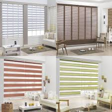 b u0026c double roller blind zebra shade home window blind custom made