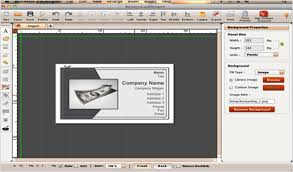 card software business card software mac templates to make business cards on mac