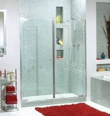 Maax Shower Door Maax 54 Kleara Pivot 2 Panel Shower Door At Menards