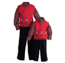 stately soldiers exclusive boy s sweater vest set