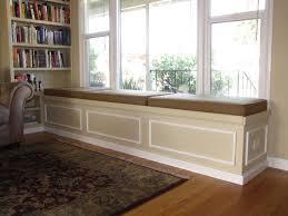 Window Bench Seat With Storage Bench Stunning Built In Bench Seat Bay Window Hypnotizing Built