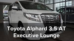toyota agency toyota alphard 3 5 ат executive lounge 2015 wtite black от