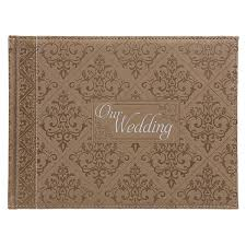wedding registry book guest book gold our wedding christian gifts