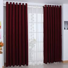 Burgundy Curtains For Living Room Stunning Burgundy Blackout Curtains Maroon Curtains For Bedroom