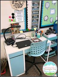 Teacher Desk Organization by Teaching With A Mountain View Flexible Seating Reflections