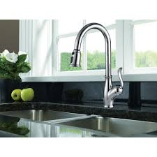 single handle pull down kitchen faucet ksk1114c oakland