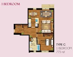 luxury one bedroom apartment floor plans and unique residential