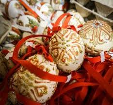 christmas store in salzburg austria egg shells christmas