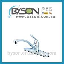 kitchen faucet manufacturer byson kf11305 taiwan faucet manufacturer single lever handle