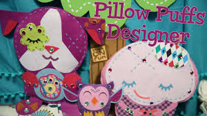 pillow puffs designer no sew felt crafts for kids youtube
