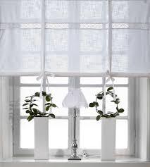 raffrollo design weiss raffrollo 100x120cm vorhang raffgardine landhaus