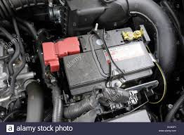 nissan renault renault nissan car battery stock photo royalty free image